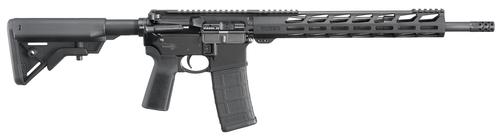"Ruger AR-556 .223/5.56, 16.1"" Barrel, B5 Bravo Stock, B5 Grip, M-LOK, Black, 30rd"