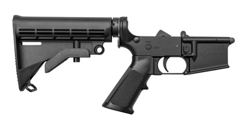 ATI Millsport Complete AR-15 Lower Receiver, Black