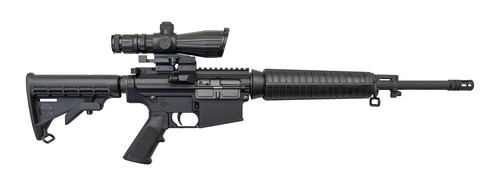 "Bushmaster XM10 Used .308 Win, 16"" Barrel, 6-Pos Stock, Black, 20rd"