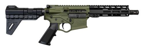 "ATI Omni Hybrid Maxx 5.56/.223, 7.5"" Barrel, Trinity Brace, Battlefield Green, 30rd"