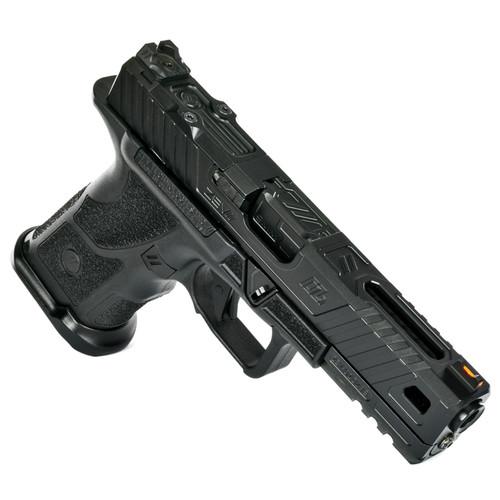 ZEV Technologies OZ9 Elite Covert 9mm, MG Non-Threaded DLC Barrel, Black, 15rd