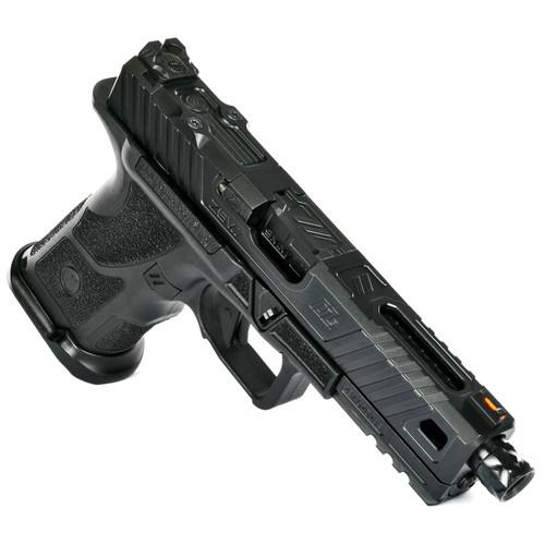 ZEV Technologies OZ9 Elite Covert 9mm, MG Threaded DLC Barrel, Black, 15rd