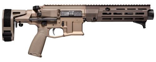 """Maxim Defense MDX 7.62x39mm, 8.5"""" Barrel, CQB Brace, Arid, 28rd"""