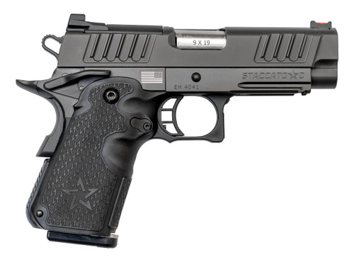 "Staccato C 9mm, 3.9"" Bull Barrel, Dawson Precision Sights, DLC, 3x 8rd"