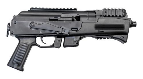 "Charles Daly PAK-9 9mm, 6.3"" Barrel, Beretta 92 Mags, No Brace, Black, 10rd"