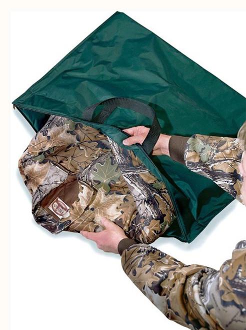 Hunters Specialties Scent-Safe Deluxe Travel Bag Nylon Gray