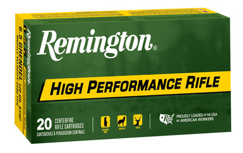 Remington High Performance 6.5 Grendel 120gr, Boat Tail Hollow Point, 20rd Box