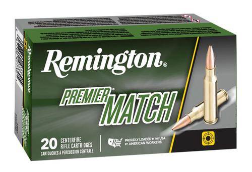 Remington Premier Match 6.5 Grendel 120gr, Open Tip Flat Base, 20rd Box