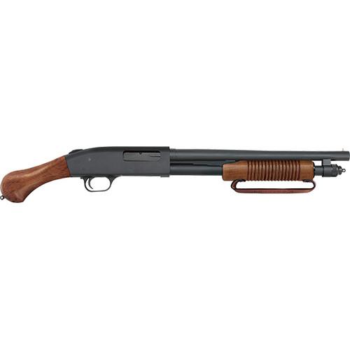 "Mossberg 590 Night Stick 20 Gauge 14"" Bluue, Wood, 6 Shot"