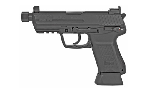 Hk45 Compact Tactical (V1) Da/Sa, Safety/Decocking Lever on Left, two 10Rd Magazines