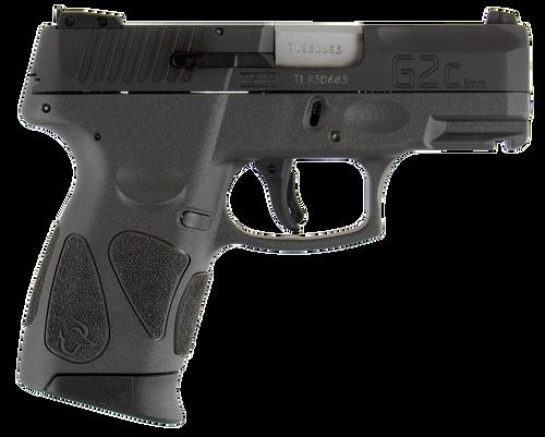 "Taurus 1G2C93112G 111 G2C 9mm Single/Double Action 3.2"" Barrel,  Capacity Gray Polymer Grip Black Slide,  12 rd"