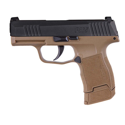 "SIG P365 Talo Exclusive 9mm, 3.1"" Barrel, Night Sights, FDE, 12rd/15rd"