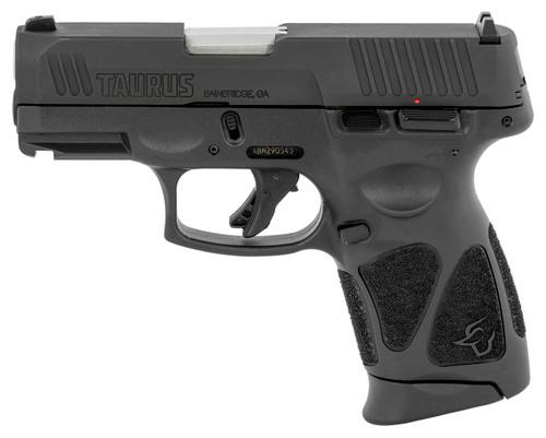 "Taurus G3C *MA Compliant* 9mm, 3.26"" Barrel, MTS, Adjustable Rear, Black, 12rd"