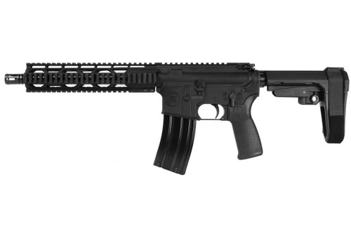 "Radical Firearms 5.56/.223, 10.5"" Barrel, Quad Rail, SBA3, Black, 30rd"