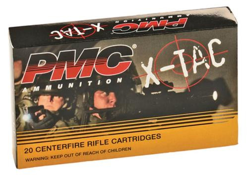 PMC X-Tac 5.56x45 NATO, 62gr, LAP, 20rd Box