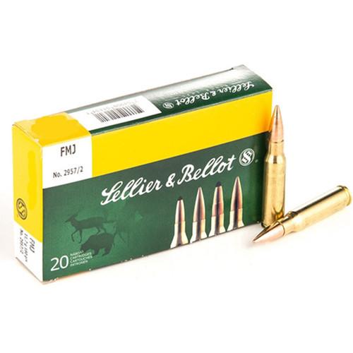 Sellier & Bellot .300 Blackout, 147gr, FMJ, 20rd Box