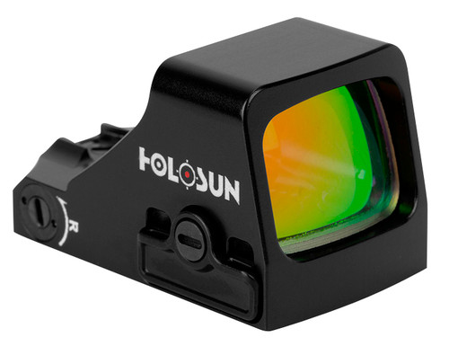 Holosun 407K-X2, 1x, 6 MOA Red Dot, 12 Brightness Settings, Black