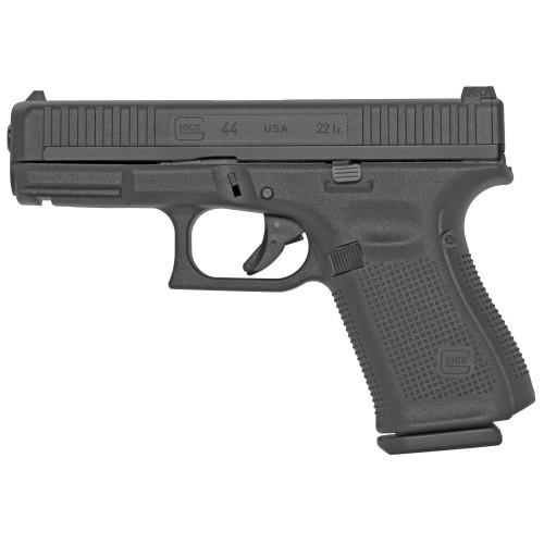 """Glock G44 Factory Rebuilt .22 LR, 4.02"""" Barrel, Polymer, Matte Black, 10rd"""