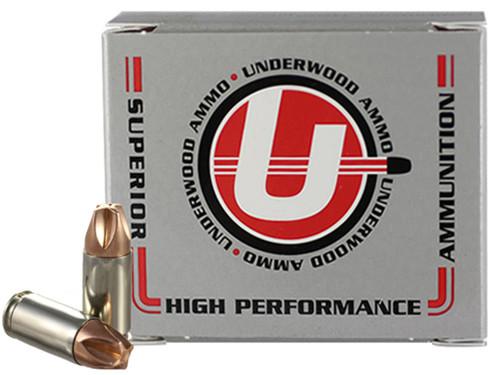 Underwood Ammo 9mm +P, 90gr, Xtreme Defender, 20rd Box
