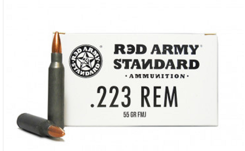 Century Arms Red Army Standard .223 Rem, 55gr, FMJ, 20rd