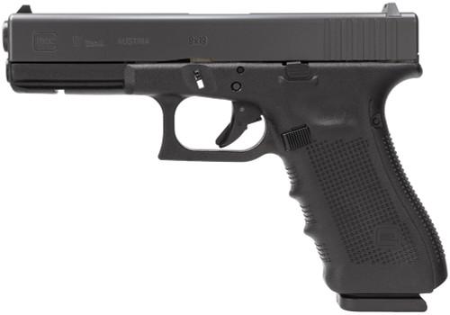 """Glock 17 Gen4 Factory Rebuilt 9mm, 5.3"""" Barrel, Fixed Sights, Black, 17rd"""