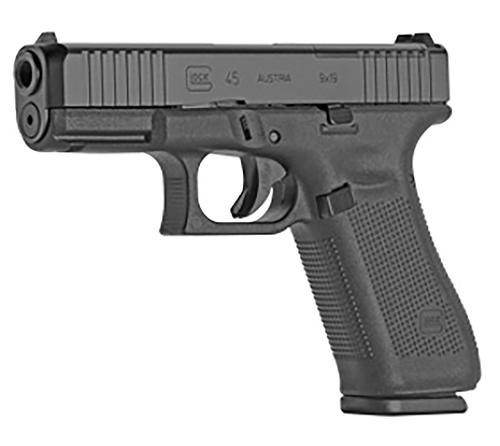 """Glock 45 MOS Factory Rebuilt 9mm, 4.49"""" Barrel, Black, 17rd"""