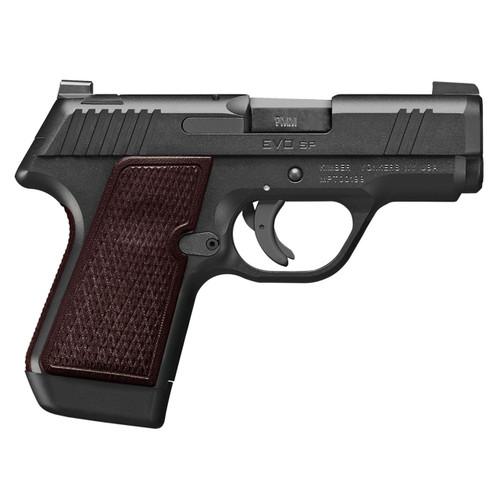 "Kimber EVO SP Select 9mm, 3.16"" Barrel, 3-Dot Sights, Brown Grips, Black, 7rd"