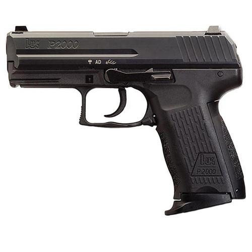 "HK P2000 V3 .40 S&W, 3.66"" Barrel, 3-Dot Sights, Decocker, Black, 10rd"