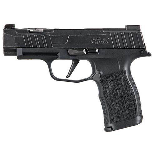 "Sig Sauer Custom Works P365 Spectre 9mm, 3.7"" Barrel, Optic Ready, Black, 12rd"