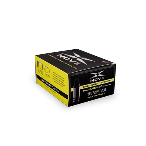 NOVX Engagement Extreme 9mm, 65gr, External Hollow Point, 20rd Box