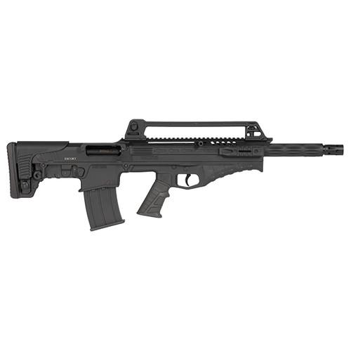 "Escort BTS12 Bullpup 12 Ga, 18"" Barrel, 3"", Black Adj Comb Bullpup, Pistol Grip, 5rd"