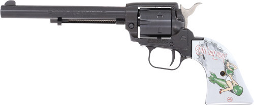 """Heritage Rough Rider Going My Way 22LR, 6.5"""" Barrel, Pinup Grips, Blued"""