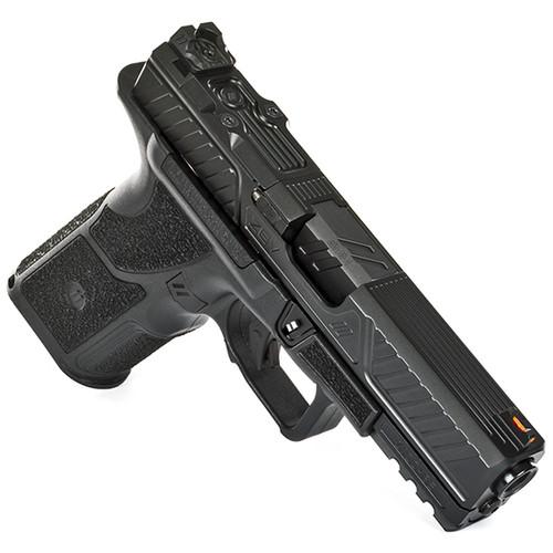 "ZEV Tech 0.Z-9C Combat 9mm, 4"" Barrel, X Grip, Compact Slide, Black, 17rd"
