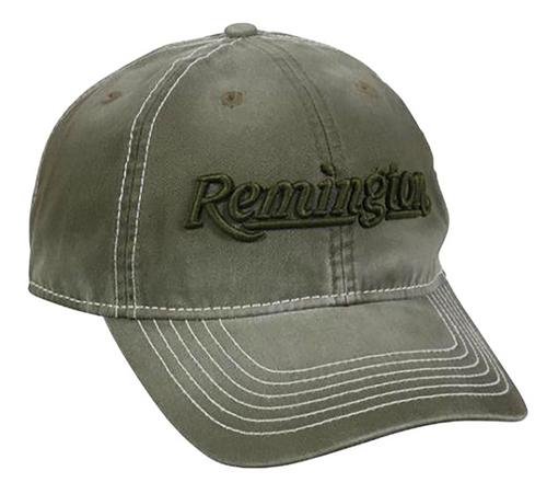 Outdoor Cap Remington Cap Cotton Twill Olive Unstructured OSFA