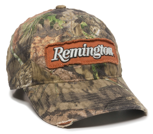 Outdoor Cap Remington Cap Canvas Mossy Oak Break-Up Country Unstructured OSFA