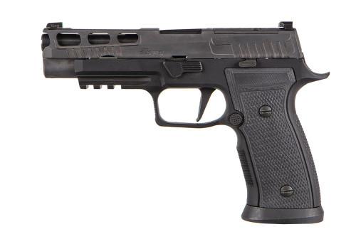 "Sig P320 AXG Pro 9mm, 4.7"" Barrel, X-Ray3, Optics Ready, Black, 17rd"