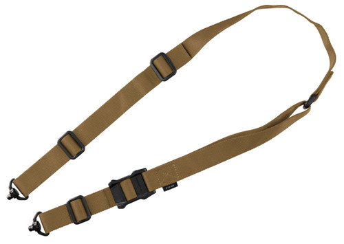 """Magpul MS1 QDM Sling, 1.25"""" Width, Adjustable Two-Point, Coyote"""