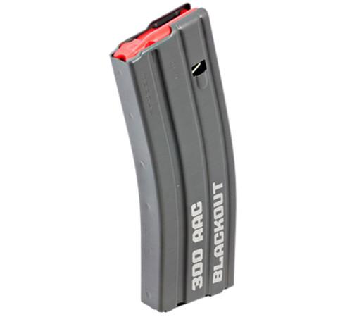 Ruger OEM 300 Blackout Magazine, Fits Ruger AR-556, Steel, Black, 30rd