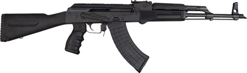 "Pioneer Arms AK-47 7.62x39mm, 16.5"" Barrel, Stamped Polish Receiver, Black, 30rd"
