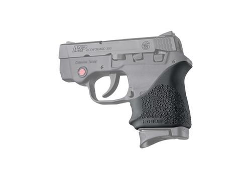Hogue HandAll Beavertip Grip Sleeve, Fits S&W Bodyguard 380/Taurus TCP/Spectrum, Rubber, Black
