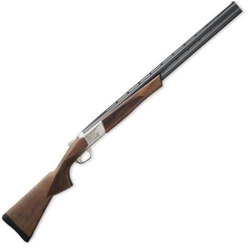 "Browning Cynergy Field O/U 28 Ga, 28"", 2.75"", 2rd, Silver Nitride Finish, Walnut Stock"