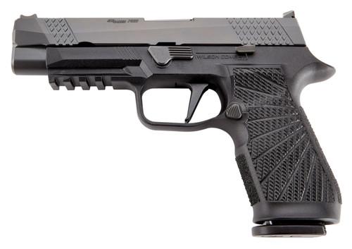 """Wilson Combat P320 9mm, 4.7"""" Barrel, Fiber Optic Sights, Black, 17rd"""