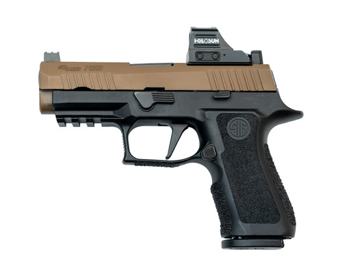 """Sig P320 X-Carry Combo Used 9mm, 3.9"""" Barrel, 2x Frames, Coyote/Black, HS507C, 15rd/17rd/21rd Mags"""