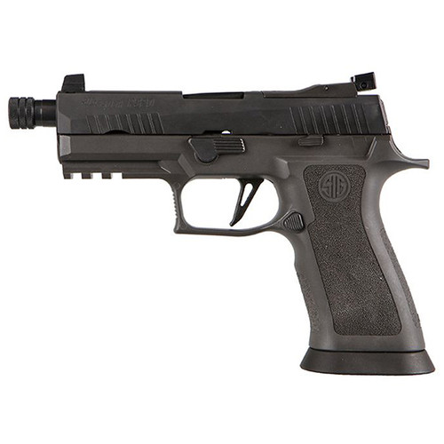 "Sig Sauer P320 X-Carry Legion 9mm, 4.6"" TB, NS, Legion Gray, 17rd"