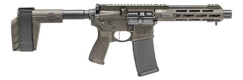 "Springfield SAINT Victor Pistol 5.56/.223, 7.5"" Barrel, M-LOK, SBX-K Brace, OD Green, 30rd"