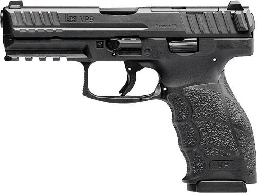 "HK VP9 Optic Ready 9mm, 4.09"" Barrel, Night Sights, Black, 10rd"
