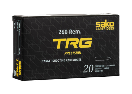 Sako TRG Precision .260 Rem, 136gr, OTMBT, 20rd Box