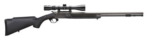"""Traditions Nitrofire Muzzleloader .50 Cal, 26"""" Barrel, 3-9x40mm Duplex Scope, Black, 1rd"""