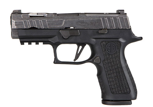 "Sig P320 XCompact Spectre 9mm, 3.9"" Barrel, X-Ray3 Sights, Distressed/Black,15rd"