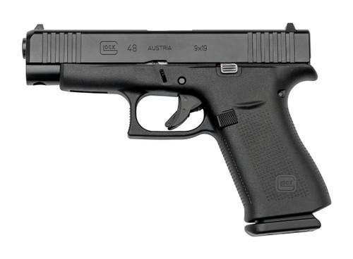 "Glock G48 AUS Used 9mm, 4.17"" Barrel, Fixed Sights, Black, 10rd"